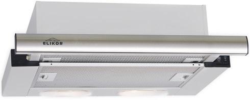 Вытяжка Elikor КВ II М-400-50-250, Steel, встраиваемаяКВ II М-400-50-250Кухонная вытяжка Elikor КВ II М-400-50-250 отличается оригинальным дизайном. Цветовая палитра обрамления включает в себя все самые востребованные рынком цвета. Управляется прибор при помощи кнопок. Для освещения столешницы вытяжка снабжена двумя галогенными лампами. Работает в режиме отвода и циркуляции.