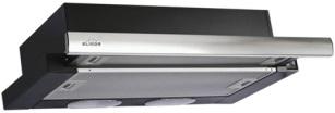Elikor КВ II М-400-60-260, Black Steel вытяжка встраиваемая