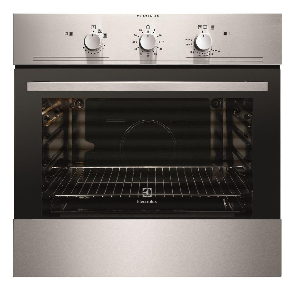 Духовой шкаф Electrolux EOG91102AX, газовый, встраиваемый, Silver