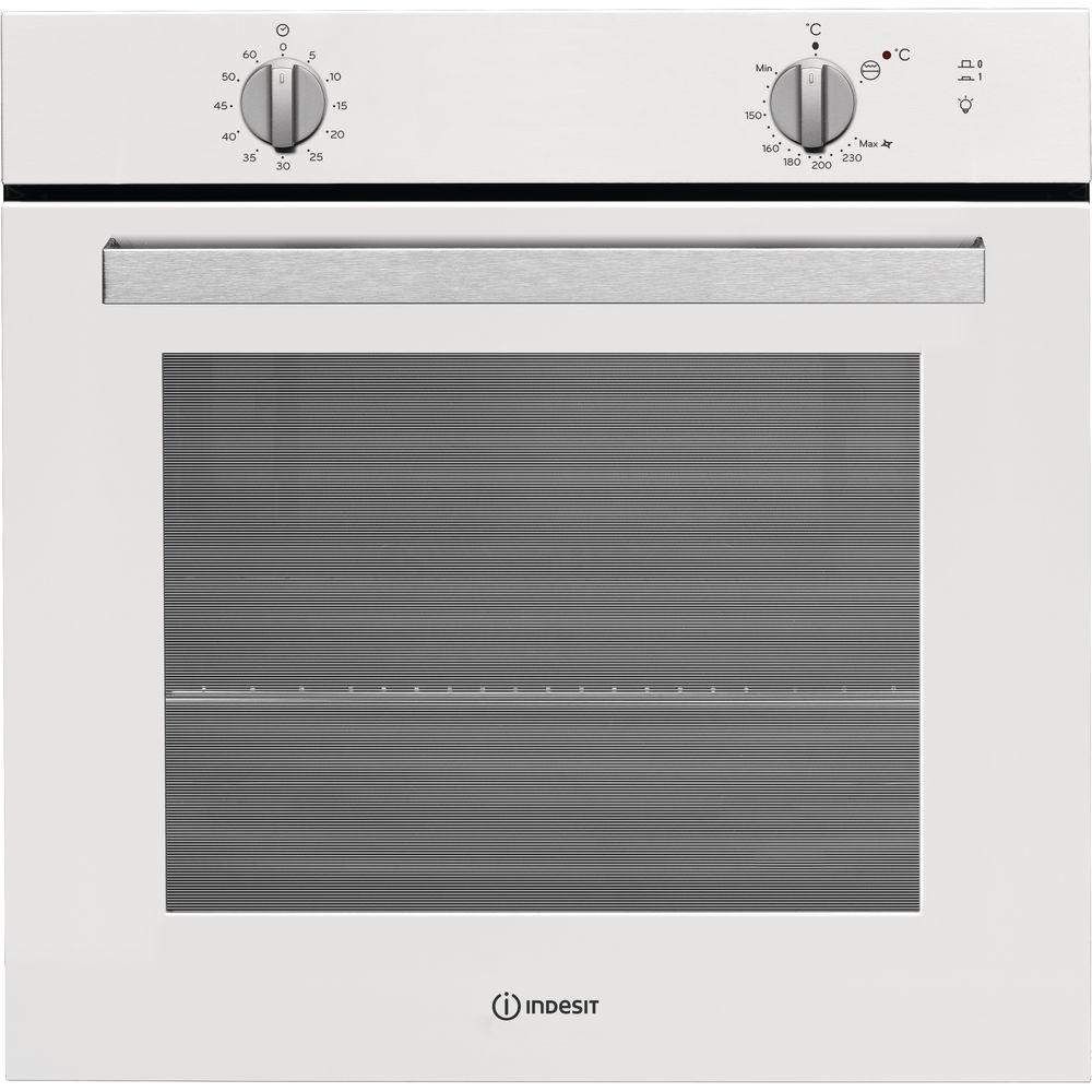 Духовой шкаф Indesit IGW 620 WH, White газовый, встраиваемый