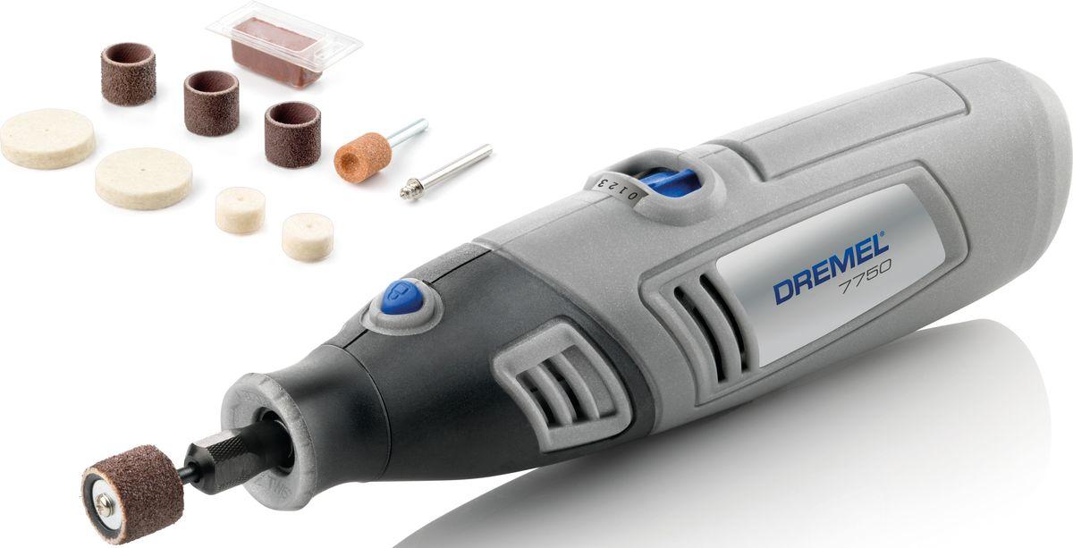 Фото - Аккумуляторный многофункциональный инструмент Dremel 7750-10. F0137750JC аккумуляторный гравер dremel 7750 10 f0137750jc