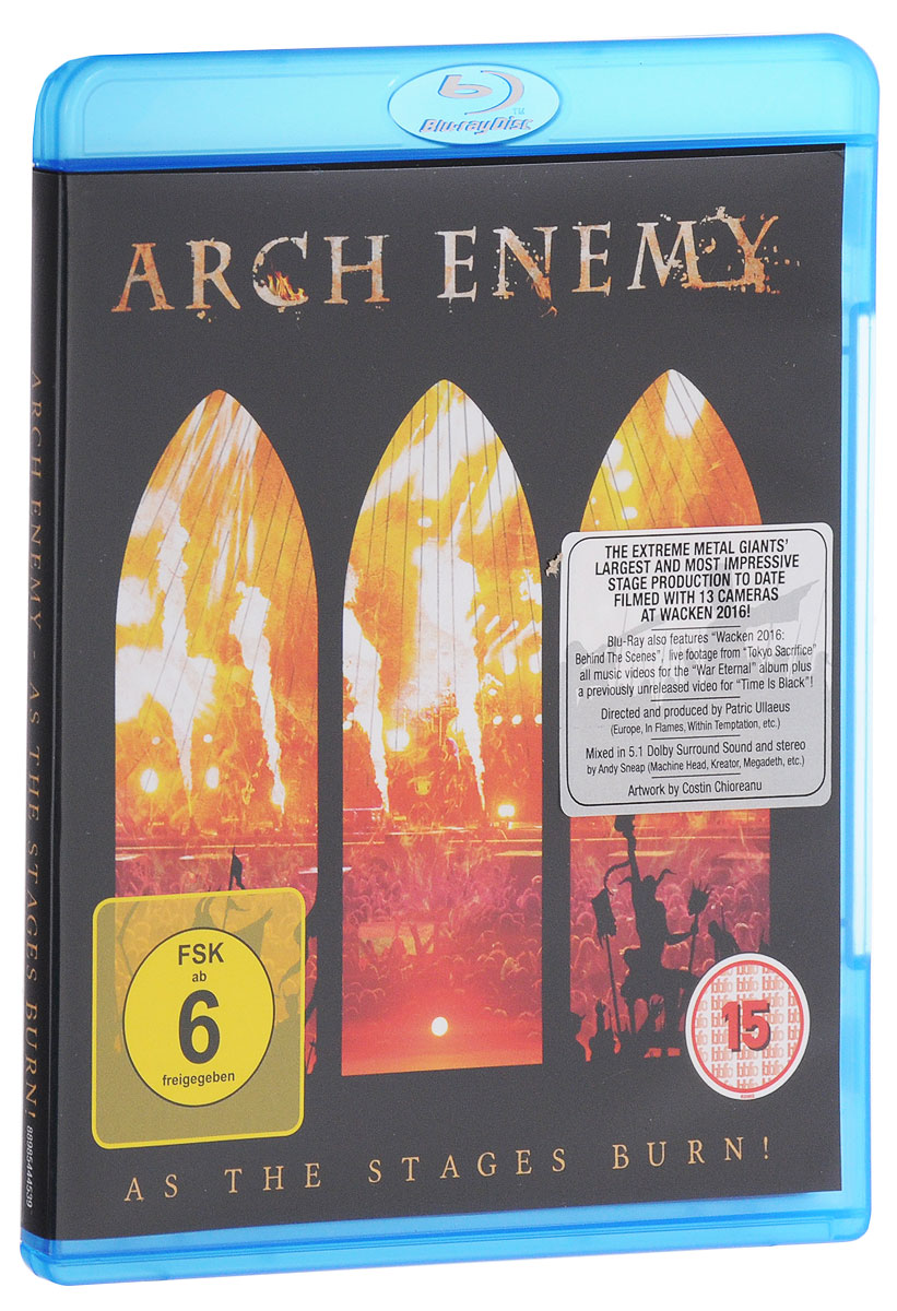 Arch Enemy: As The Stages Burn! (Blu-ray) joann ross no regrets