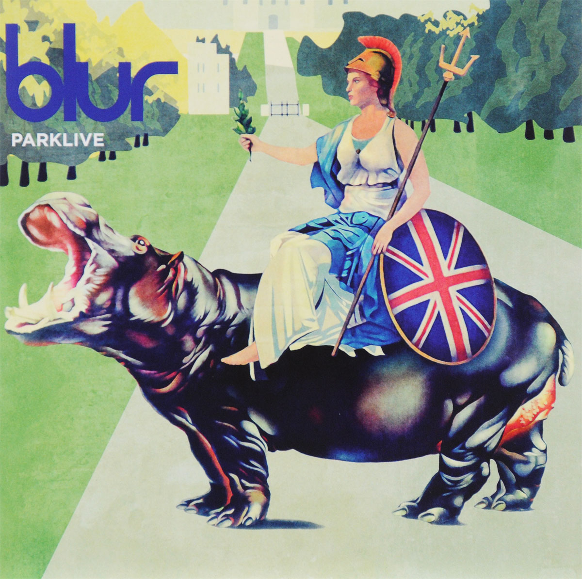 Blur,Blurt Blur. Parklive. Live In Hyde Park - 12th August 2012 (2 CD) blur blur the best of blur