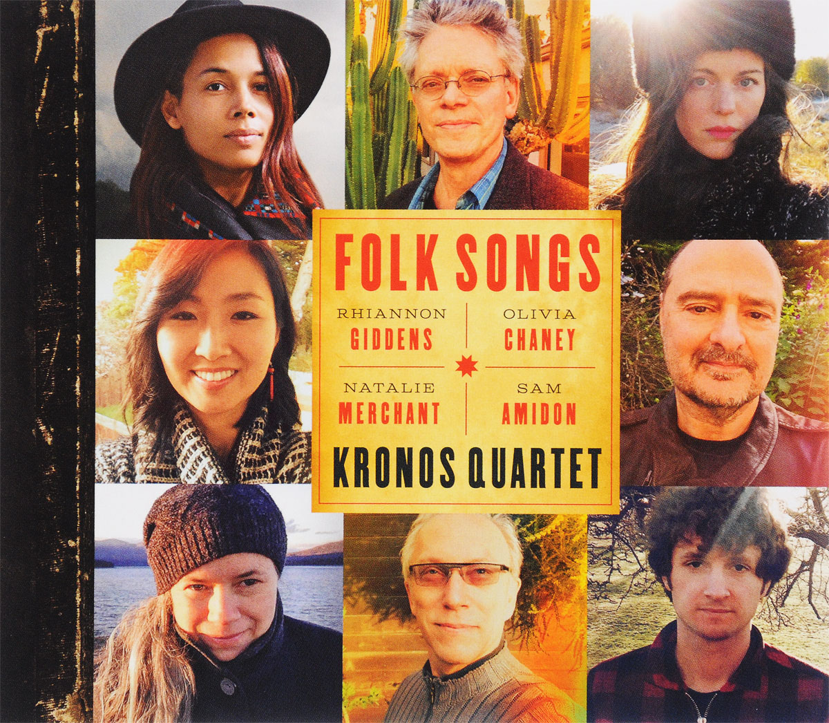 Kronos Quartet Kronos Quartet. Folk Songs цена
