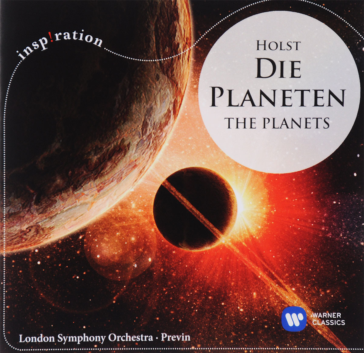 Фото - Андрэ Превен,The London Symphony Orchestra Andre Previn, London Symphony Orchestra. Holst. The Planets the london symphony orchestra john williams star wars attack of the clones
