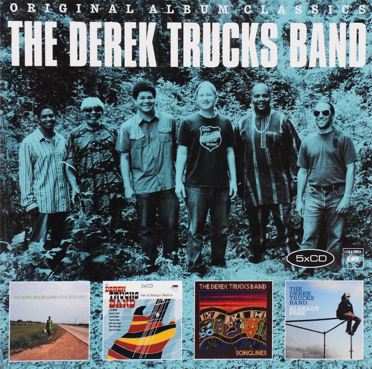 цена на The Derek Trucks Band The Derek Trucks Band. Original Album Classics (5 CD)