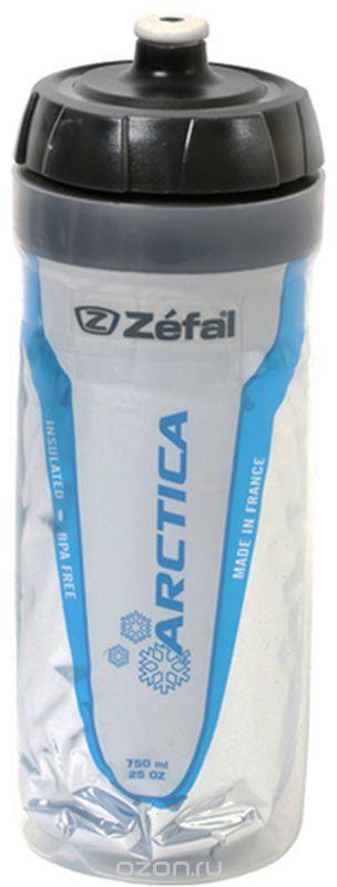 Фляга велосипедная Zefal Arctica 75, изотермическая, цвет: белый, 750 мл фляга велосипедная zefal sense m65 цвет белый 650 мл 155a
