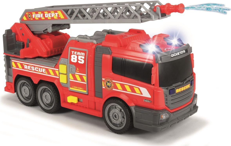 Dickie Toys Пожарная машина с водой цвет красный серый машины dickie машина mater