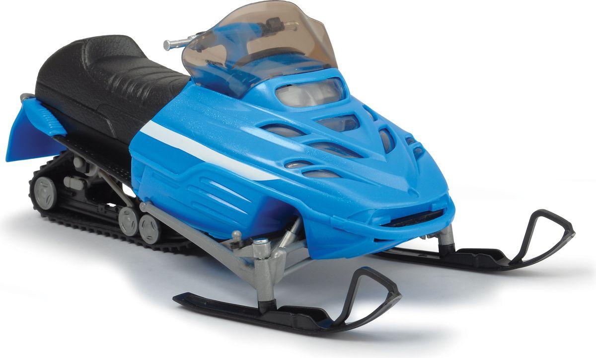 цена Dickie Toys Снегоход цвет голубой
