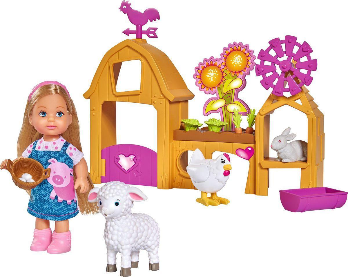 Simba Кукла Еви Счастливая ферма simba кукла еви счастливая ферма