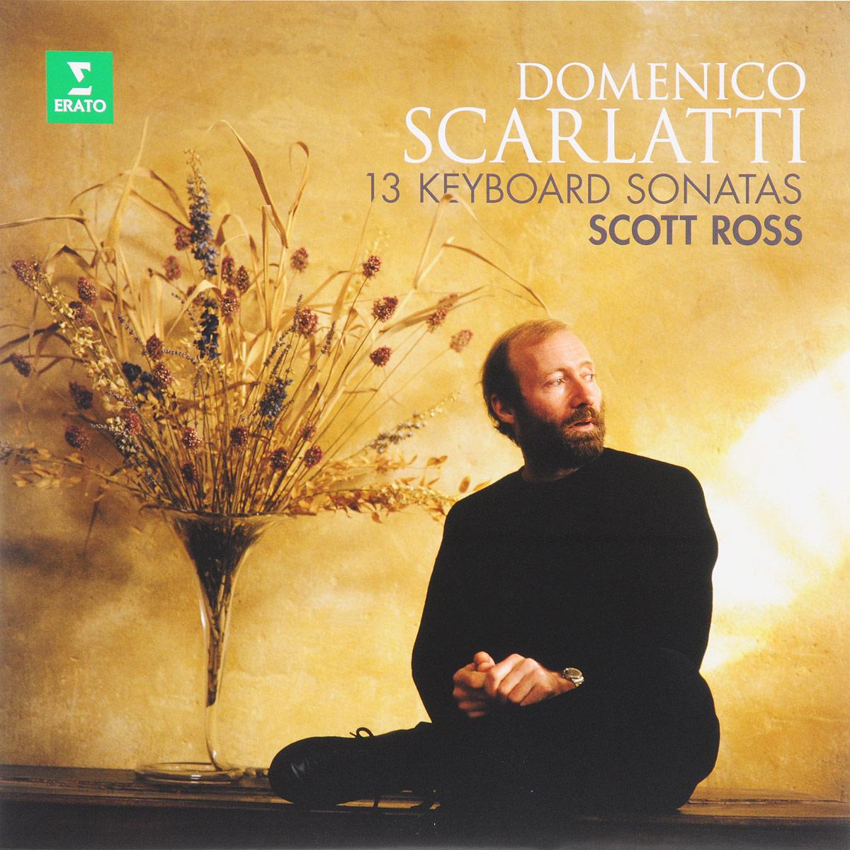 Скотт Росс Scott Ross. Domenico Scarlatti. 13 Keyboard Sonatas (LP) scarlatti scarlattijean rondeau sonatas