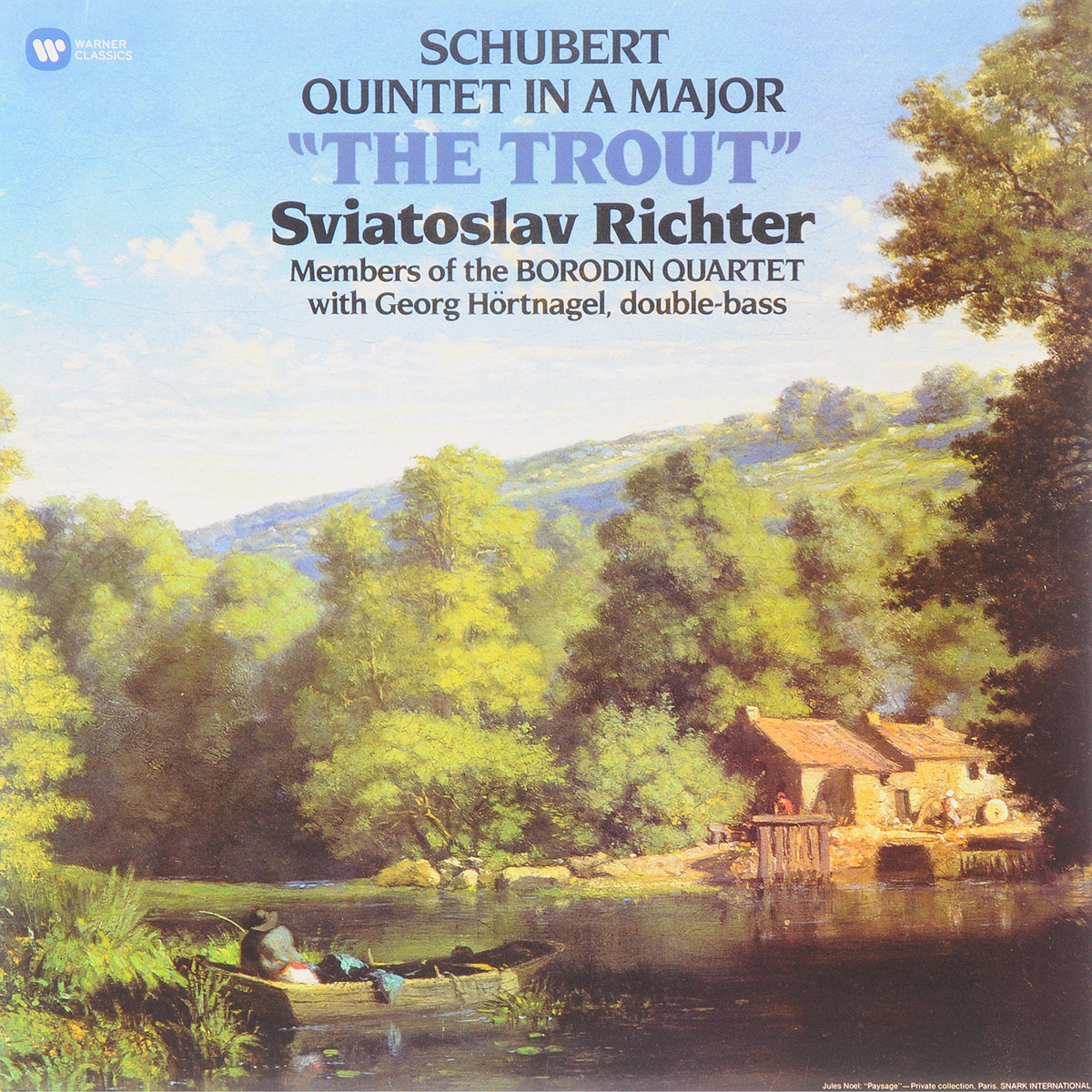 Святослав Рихтер,Государственный квартет имени Бородина Sviatoslav Richter. Schubert. Quintet In A Major The Trout (LP) walter trout walter trout face the music 25th anniversary 2 lp