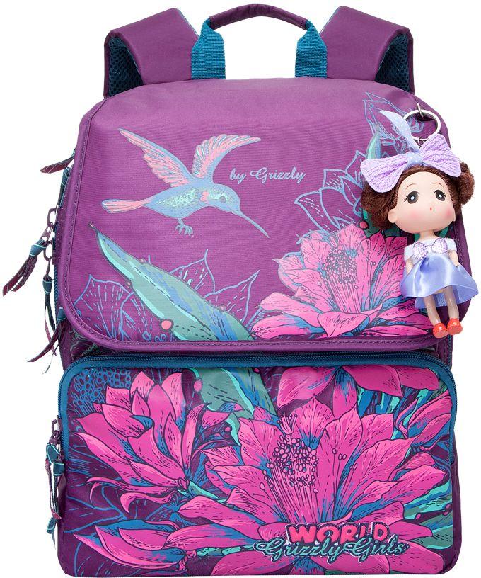 Grizzly Рюкзак цвет фиолетовый RA-672-1