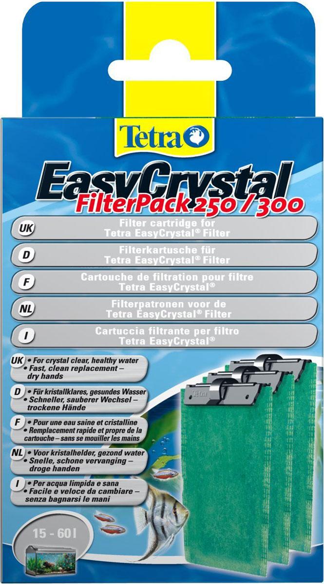 Фильтрующие картриджи Tetra EC 250/300, для внутренних фильтров EasyCrystal 250/30, 3 шт