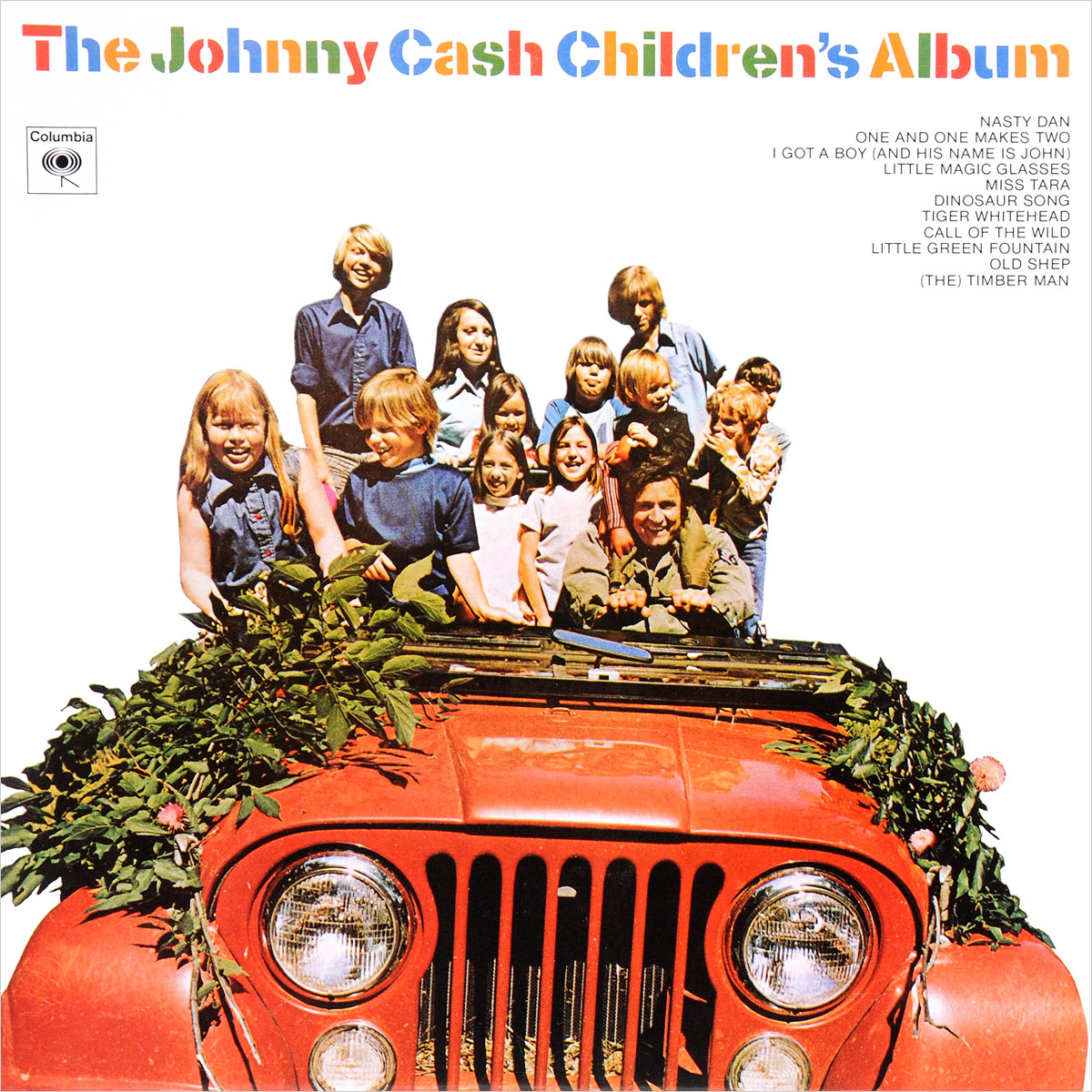 Джонни Кэш Johnny Cash. The Johnny Cash Children's Album (LP) джонни кэш johnny cash maximum johnny cash