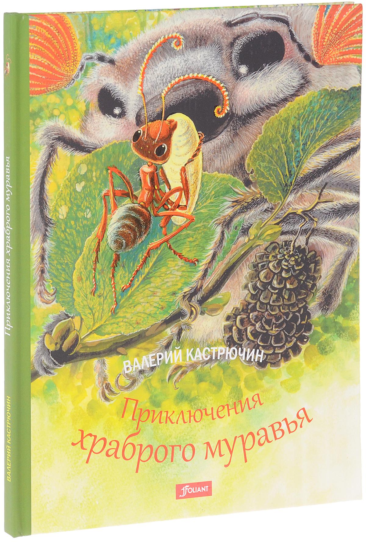 Валерий Кастрючин Приключения храброго муравья