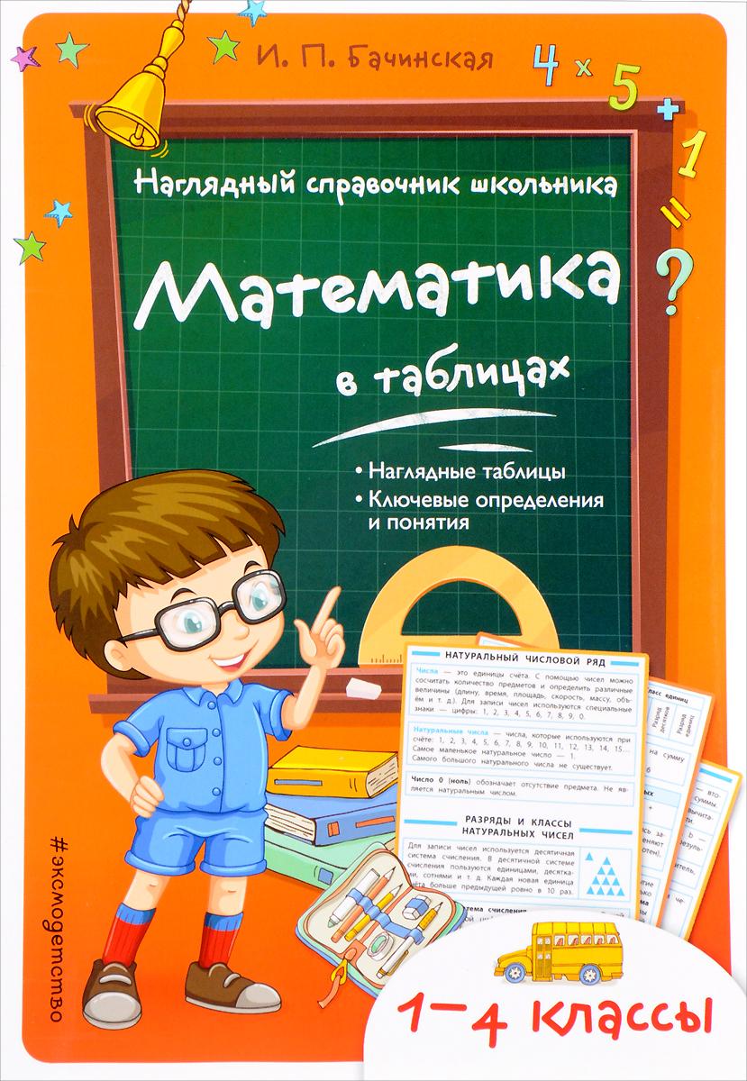 И. П. Бачинская Математика в таблицах