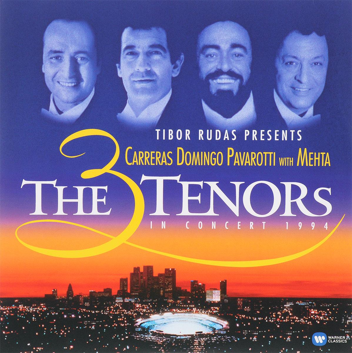 The 3 Tenors,Хосе Каррерас,Пласидо Доминго,Лучано Паваротти,Зубин Мета,The Los Angeles Philharmonic,Los Angeles Music Center Opera Chorus The 3 Tenors. The 3 Tenors In Concert 1994 (2 LP) цена