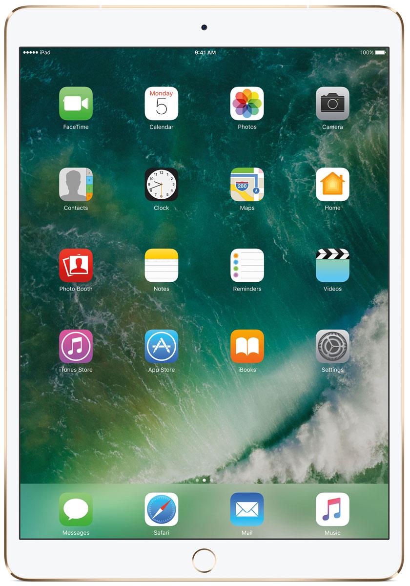 "Планшет Apple iPad Pro 10.5"" Wi-Fi + Cellular (2017), 256 ГБ, золотистый"