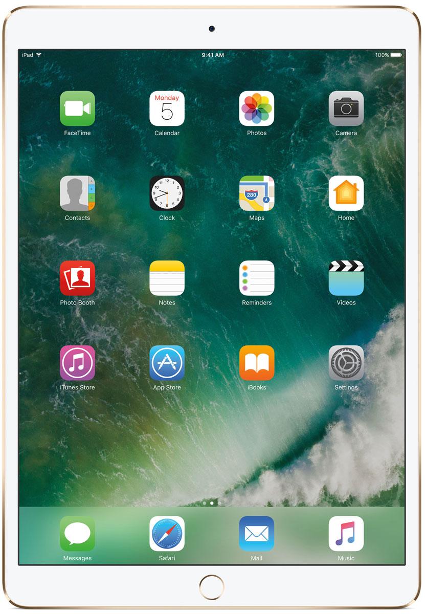 Планшет Apple iPad Pro Wi-Fi (2017) 512 ГБ, золотистый стилус iphone ipad