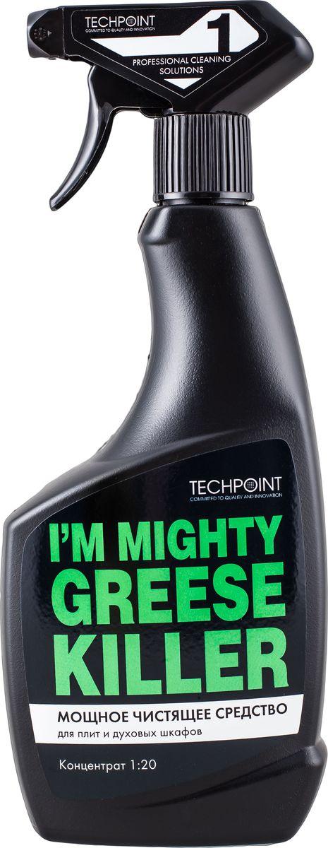 Средство чистящее Techpoint Powerclean, для очистки плит и духовых шкафов, 500 мл чистящее средство techpoint для сантехники гель концентрат 750 мл