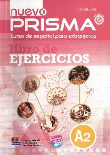 Nuevo Prisma: A2: Libro de ejercicios (+ CD) цены онлайн