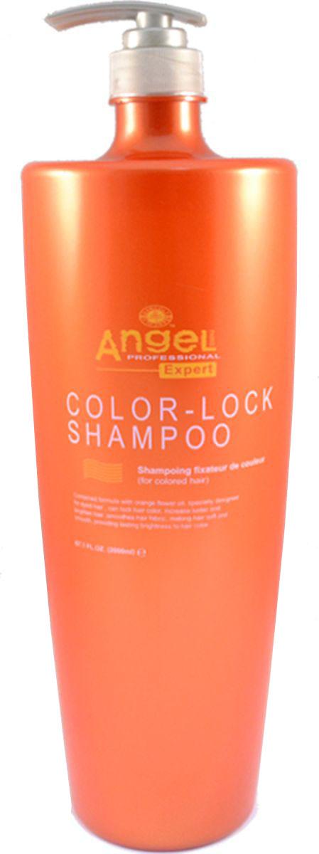 Angel Expert Шампунь фиксатор цвета окрашенных волос 2 л