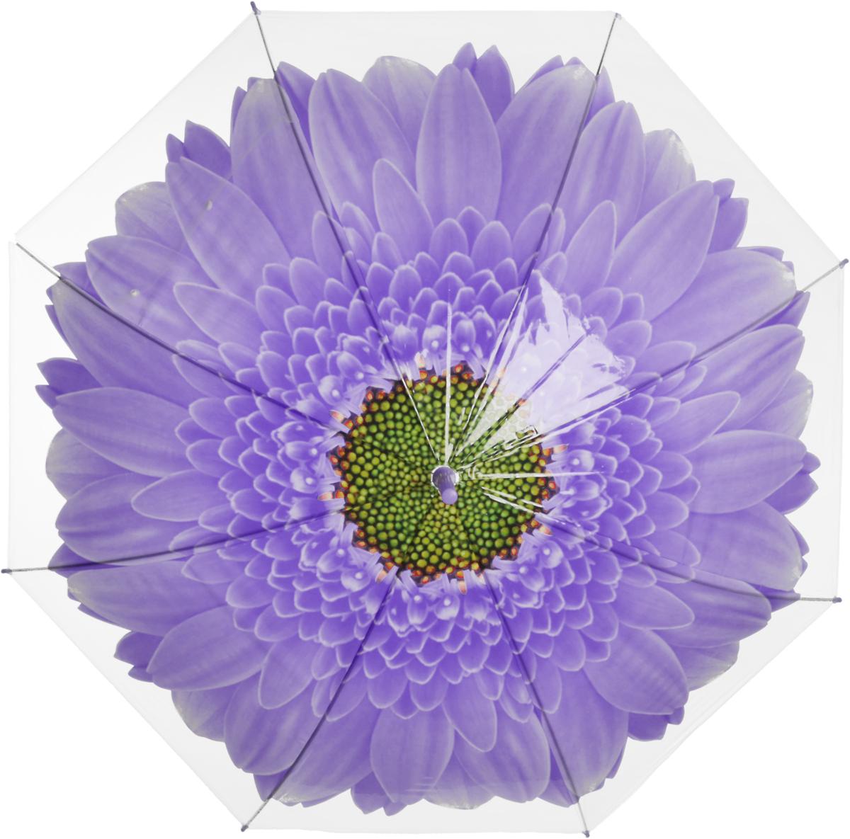 Зонт женский Эврика Цветок, цвет: фиолетовый, белый. 97857 зонт эврика цветок 1 97856