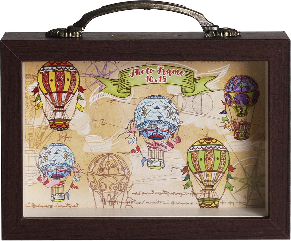 Копилка-фоторамка Magic Home Праздничные шары, 10 х 15 см фоторамка кино magic home фоторамка кино