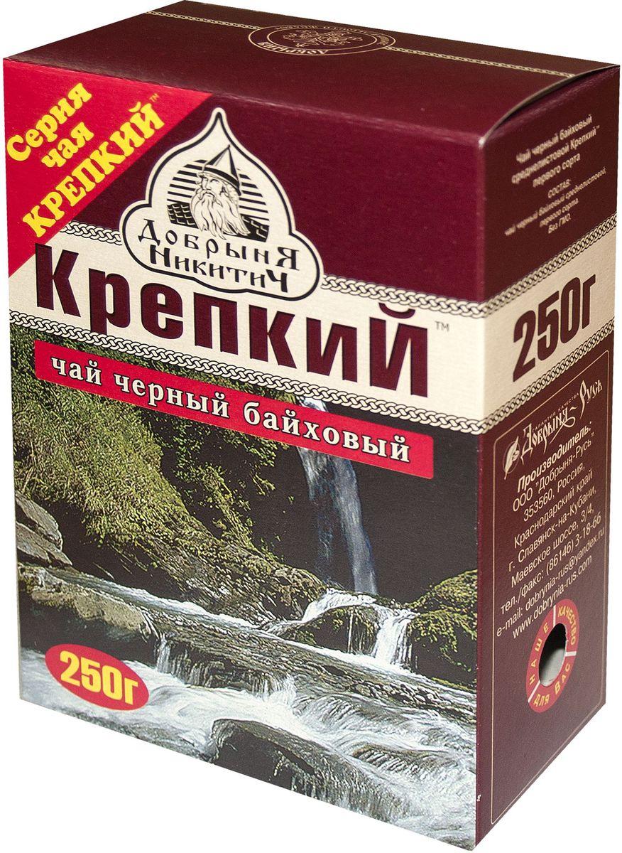 Добрыня Никитич Крепкий черный чай среднелистовой, 250 г шесть ксуан уу йишен джин июня mei чай черный чай оставляет снег поддержки керамические наборы чая деревянные подарочная коробка 250 г