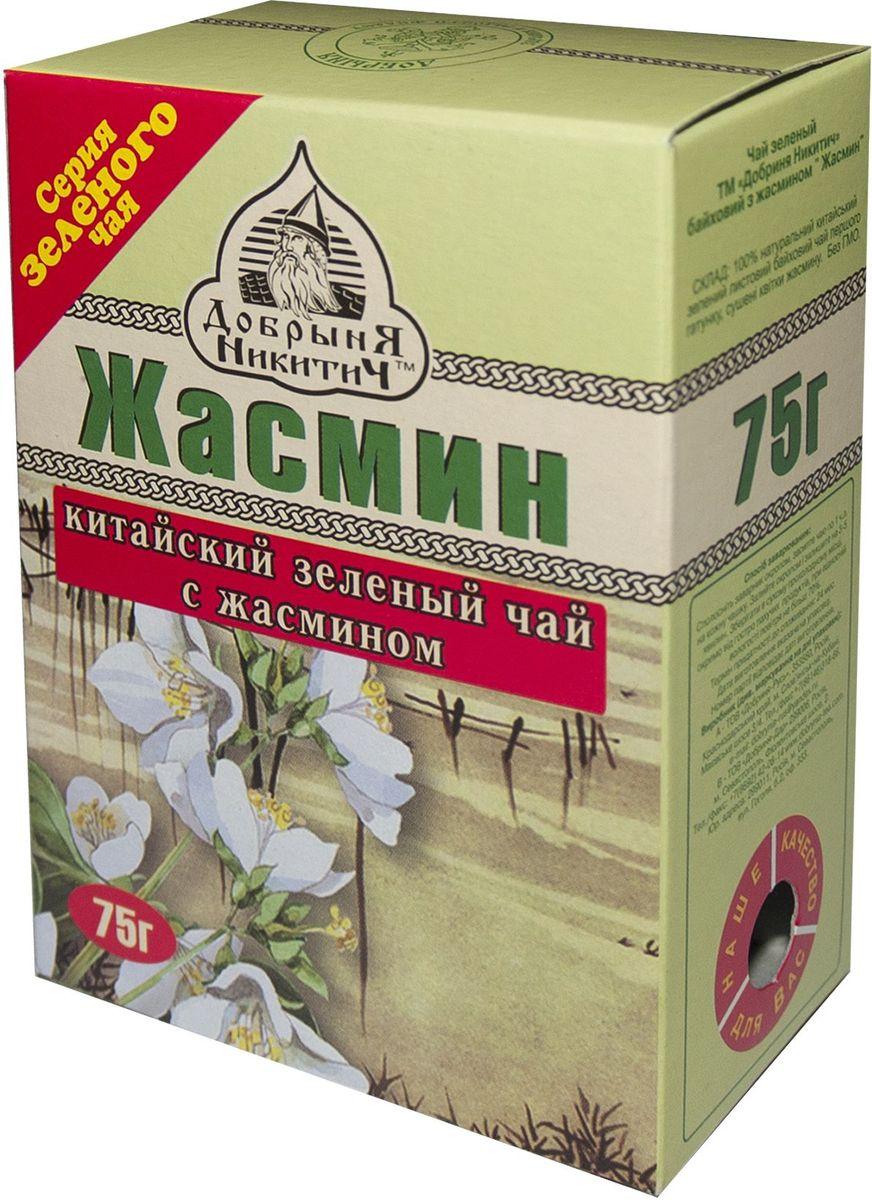 Добрыня Никитич Жасмин зеленый чай, 75 г чай жасмин