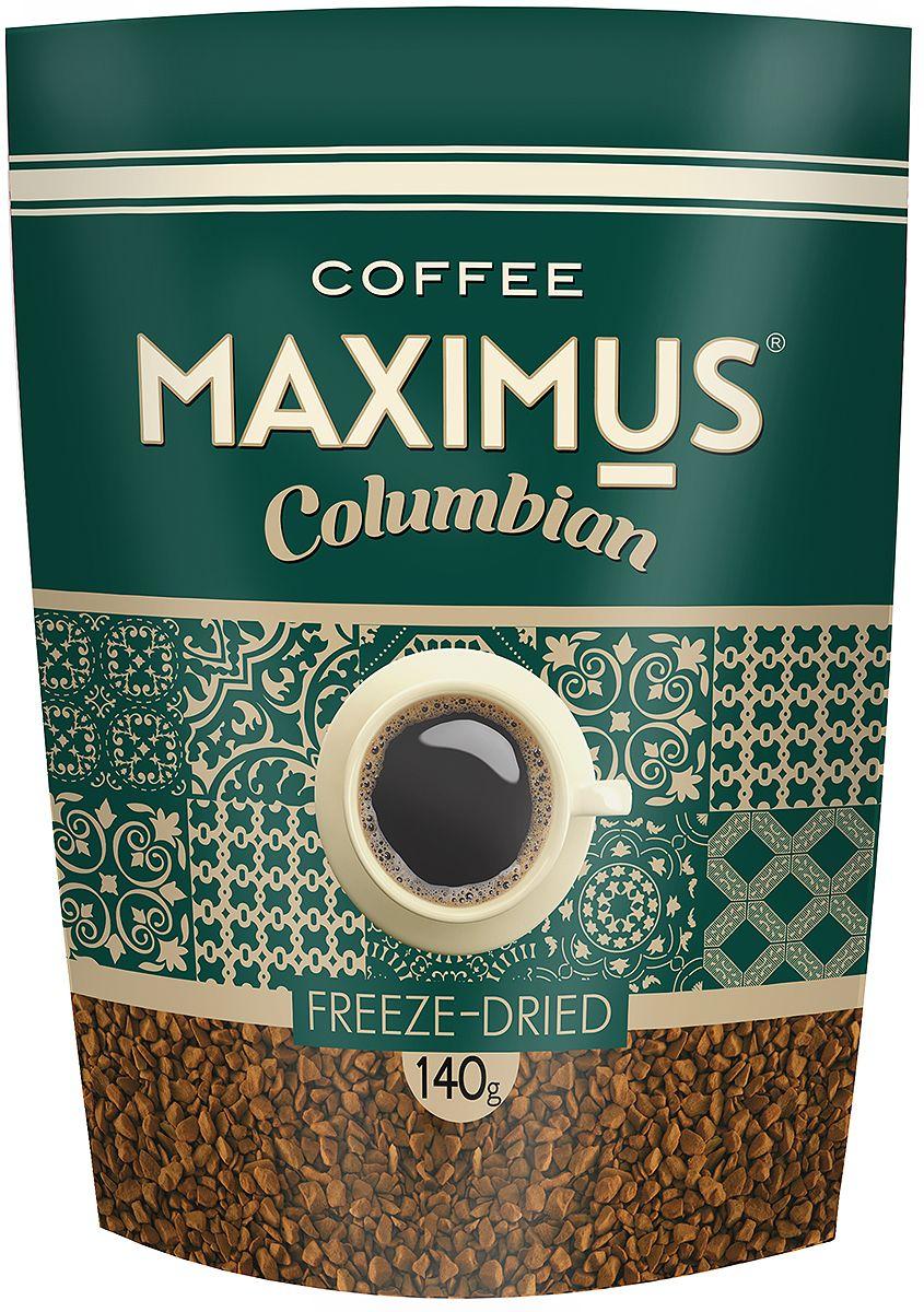 Maximus Columbian кофе растворимый, 140 г