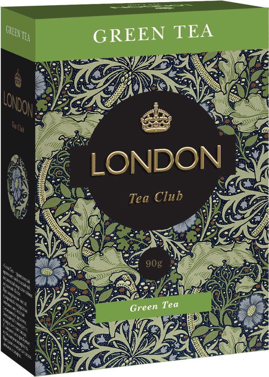 London Tea Club Green Tea чай зеленый крупнолистовой, 90 г китайский anxi tieguanyin tea fresh china green tie guan yin tea натуральное органическое здоровье oolong tea 250 г лучший чай oolong