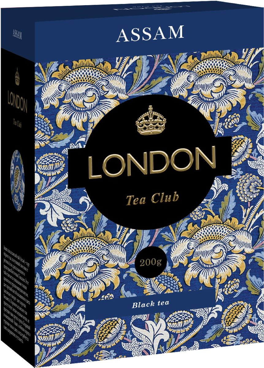 London Tea Club Assam среднелистовой черный чай, 200 г 2015 arrival vacuum pack lapsang souchong canton village black tea 500g ceylon assam premium selection count special pearl milk