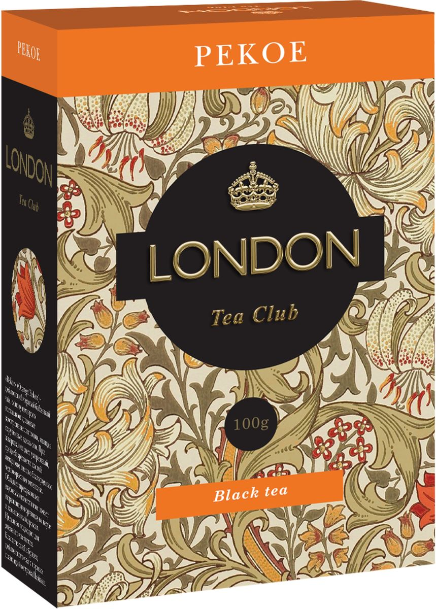 London Tea Club Pekoe листовой черный чай, 100 г pekoe most poison
