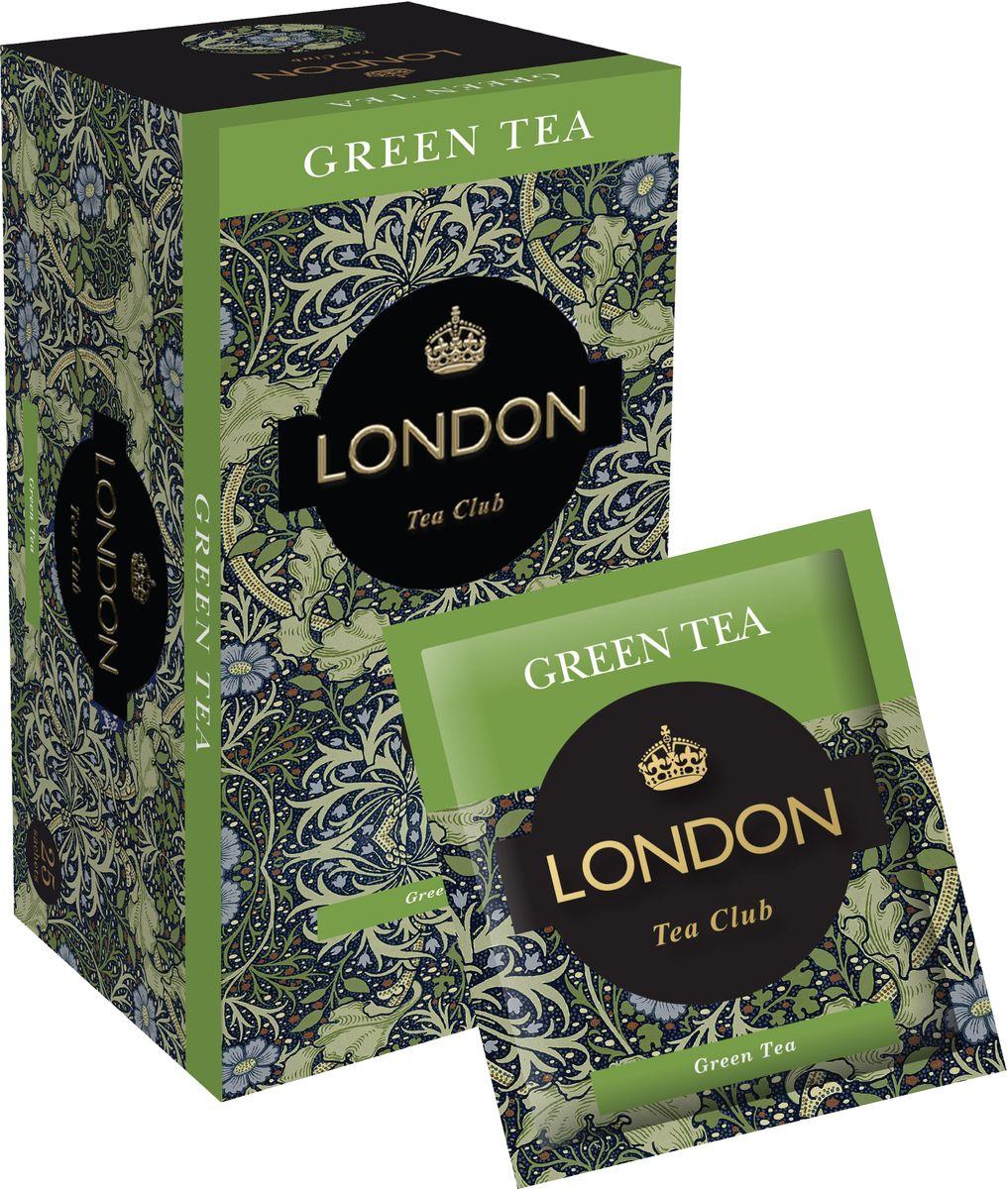 London Tea Club Green Tea в пакетиках, 25 шт китайский anxi tieguanyin tea fresh china green tie guan yin tea натуральное органическое здоровье oolong tea 250 г лучший чай oolong
