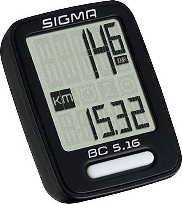 цена на Велокомпьютер Sigma Topline BC 5.16, 5 функций