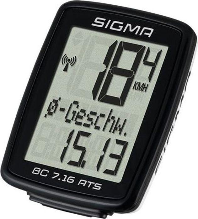 цена на Велокомпьютер Sigma Topline BC 7.16 ATS, 7 функций