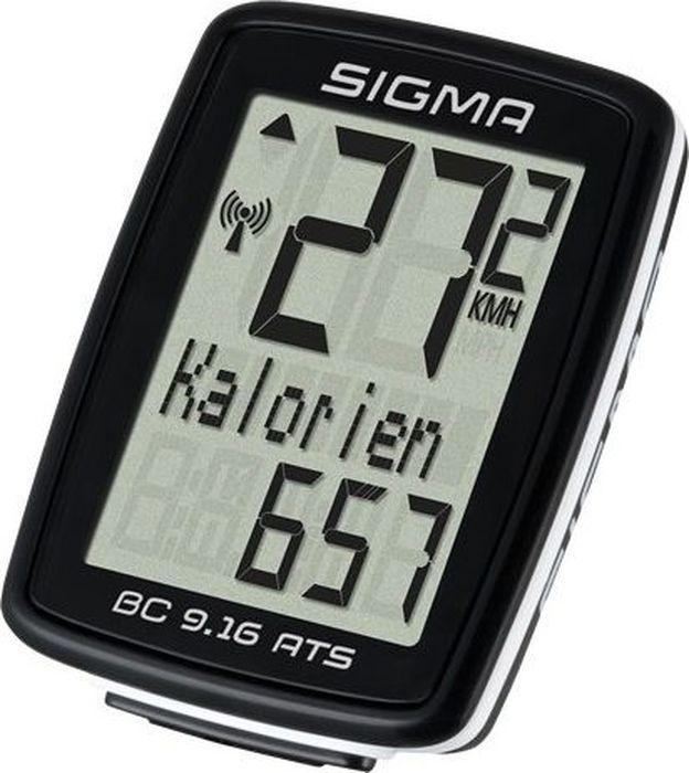 Велокомпьютер Sigma Topline BC 9.16 ATS, 9 функций