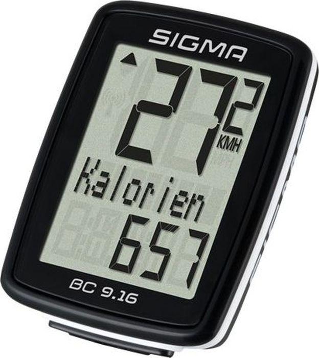цена на Велокомпьютер Sigma Topline BC 9.16, 9 функций