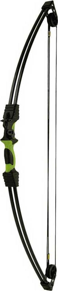 Лук блочный Man Kung MK-CB015, для начинающих, с комплектом аксессуаров, цвет: черный, зеленый, 12 Lbs арбалет рекурсивный man kung цвет черный 95 lbs