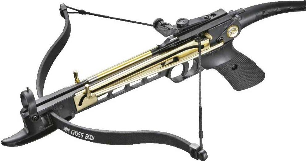 Арбалет-пистолет Man Kung, цвет: черный, 80 lbs. MK/MK-80A4AL арбалет рекурсивный man kung цвет черный 95 lbs