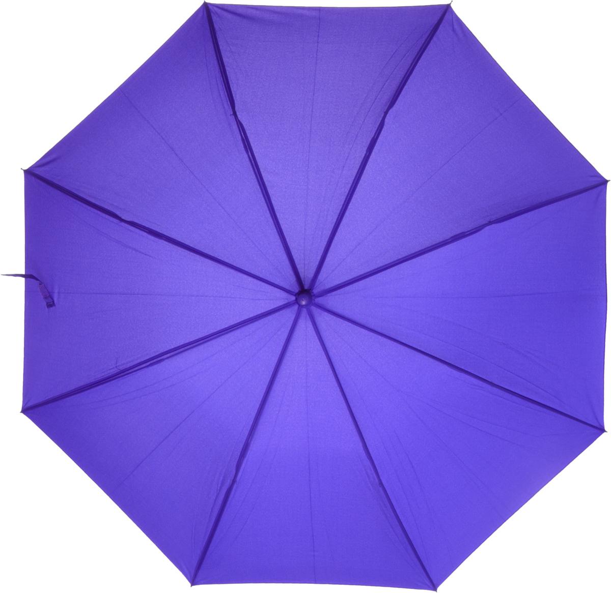 Зонт-трость женский Nuages, цвет: сиреневый. NZ1240/3purple зонт женский трость спас медный всадник 106см