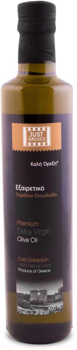 Just Greece Premium Extra Virgin оливковое масло, 500 мл just greece premium extra virgin оливковое масло 750 мл