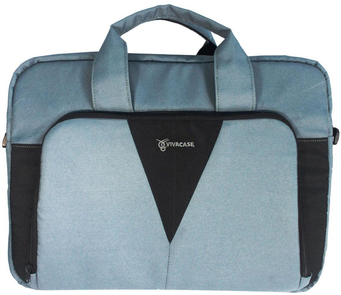 "Vivacase Casual, Grey сумка для ноутбука 15,6"""