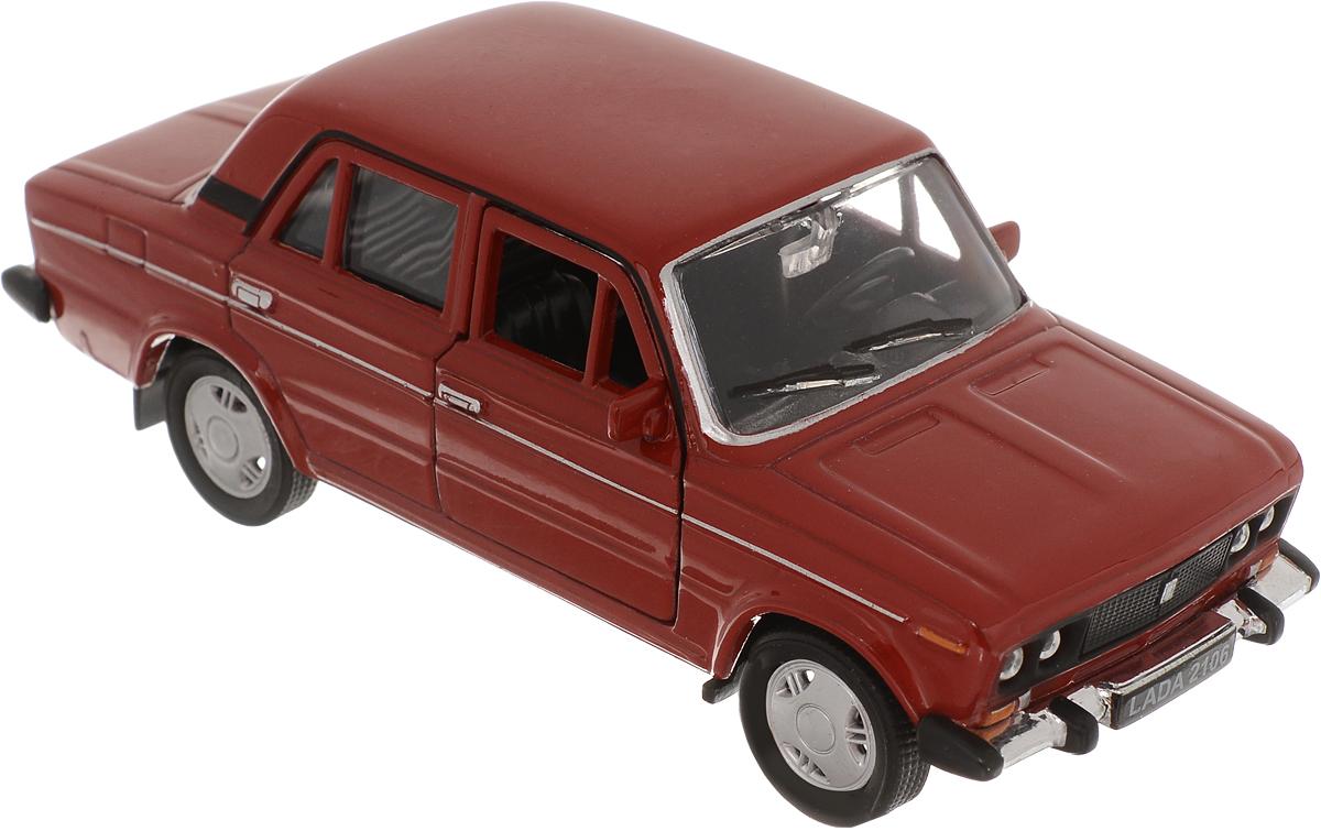 Welly Модель автомобиля LADA 2106 цвет красный на авто лада 2106 как промыть карбюратор не работают холостые обороты