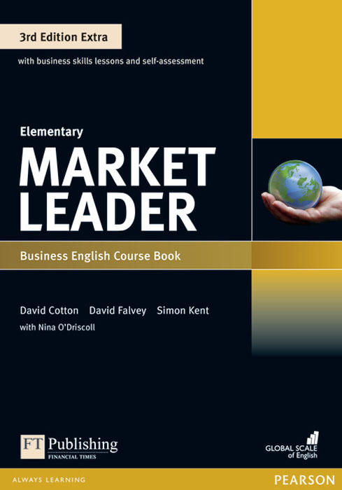 Market Leader: Extra Elementary Coursebook and MyEnglishLab Pin Pack skills for study level 1 student s book with downloadable audio