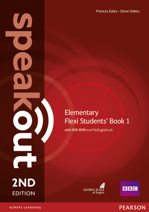 цена Speakout Elementary Flexi Students' Book 1 with MyEnglishLab Pack (+ DVD-ROM)