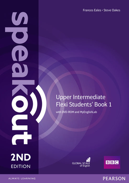 Speakout Upper Intermediate Flexi Students' Book 1 with MyEnglishLab Pack DVD-ROM total english upper intermediate students book dvd rom