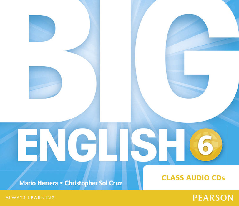 Big English: Level 6: Class Audio CD big english 1 class audio